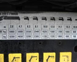 PORTEUR IVECO 6X2 GRUE 28 T/M - Ref 220