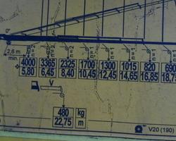 PLATEAU GRUE FASSI F 310 6X2