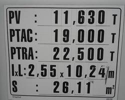IVECO STRALIS 4X2 PLATEAU GRUE