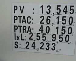 PORTEUR SCANIA 6X2 AMPLIROLL GRUE